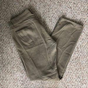 J. Crew Vintage Slim Straight Khaki Jeans